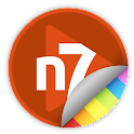 n7player Skin - Orange Red