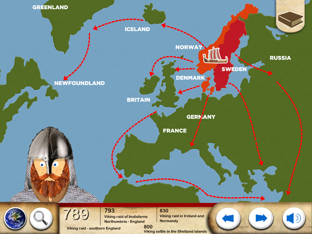the vikings history for kids u2013 android apps on google play