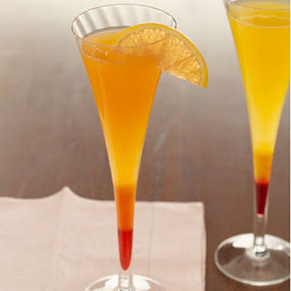 Passion Fruit Mimosas.