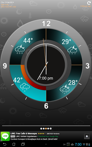 Weather Clock
