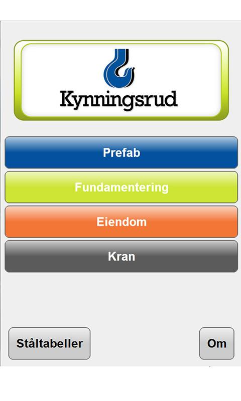 Kynningsrud - screenshot