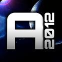 Asteroid 2012 3D logo