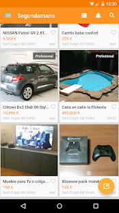 segundamano.es comprar/vender - screenshot thumbnail