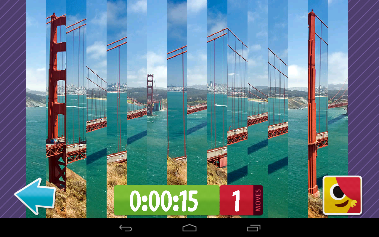 Places Puzzle: Sliding Slices- screenshot