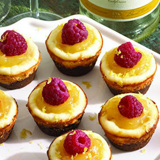 Mini Moscato Cheesecakes