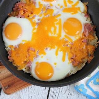 Hash Brown Breakfast Skillet Recipe #SimplyPotatoes
