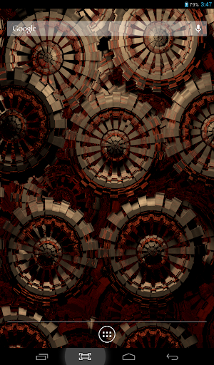 Golden Wheels 2 Live Wallpaper