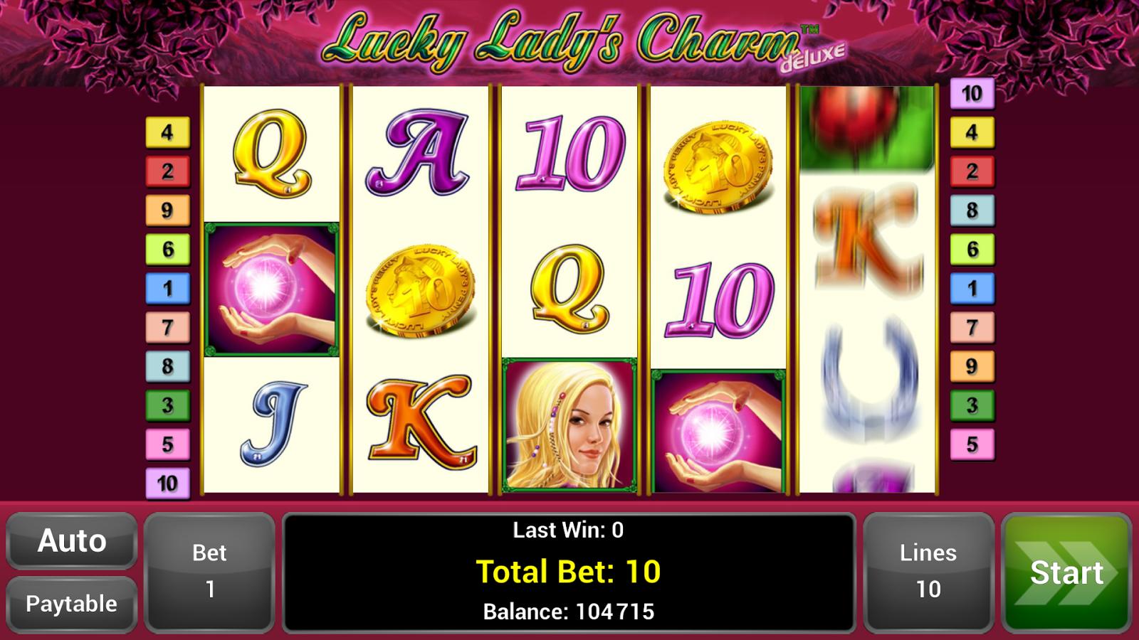 lucky lady charme app