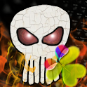 Go Launcher EX Theme Skull icon