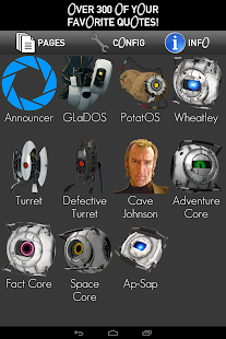Portal 2 Enrichment Soundboard