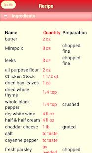 Instant Recipes screenshot