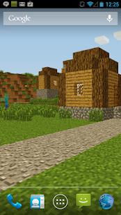 ZombieTown-Minecraft-Wallpaper 1