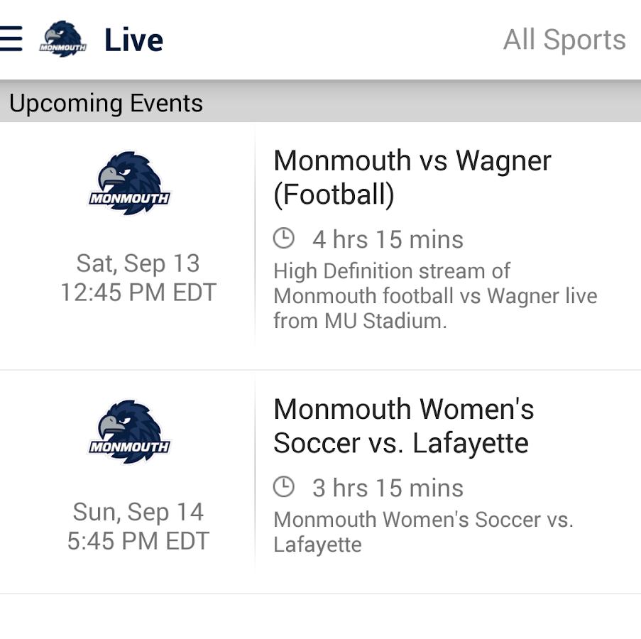 Monmouth Hawks: Premium - screenshot