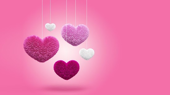 Fluffy Hearts Live Wallpaper - screenshot thumbnail
