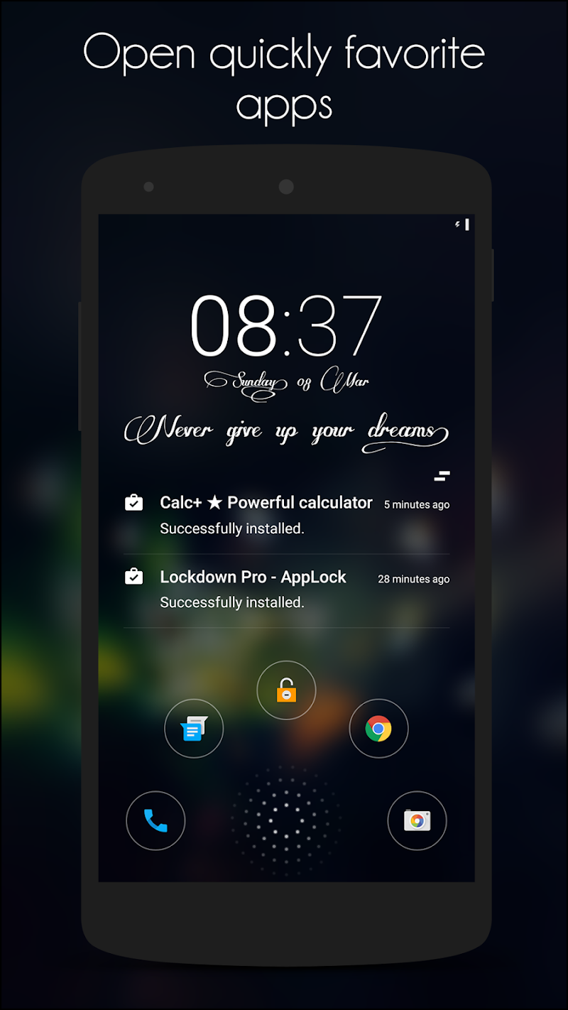 Hi Locker - Your Lock Screen Screenshot 2