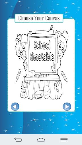 School Kid Coloring Book 400 Screenshots 2