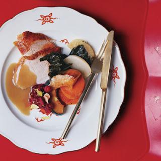 Roast Turkey with Cream Gravy