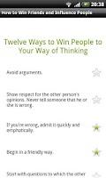 Screenshot of How to Win Friends and Influen