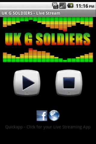 Uk G Soldiers Live Stream