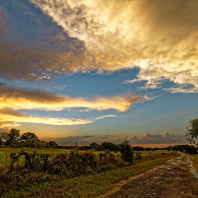 After the storm by Ricky Niell - Landscapes Weather ( texas, hd, dxo, storm, rain, golden hour, sunset, sunrise,  )