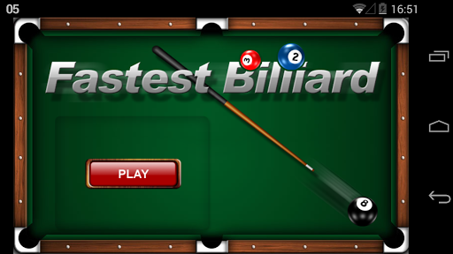Fastest Billiard