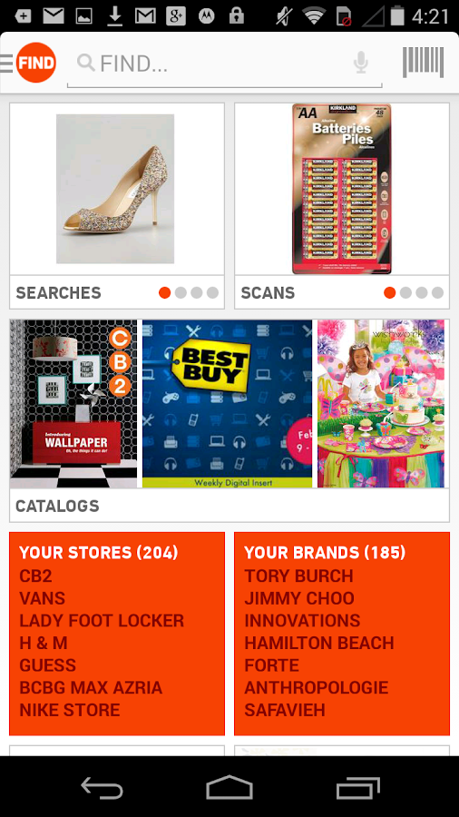TheFind: Scan. Search. Shop. - screenshot