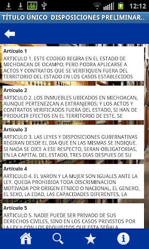 Codigos Michoacan