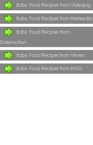 Baby Food Recipes Guide
