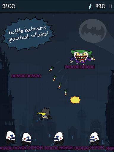 Doodle Jump DC Super Heroes скачать на планшет Андроид