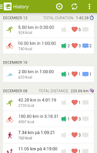 Endomondo Sports Tracker - screenshot thumbnail