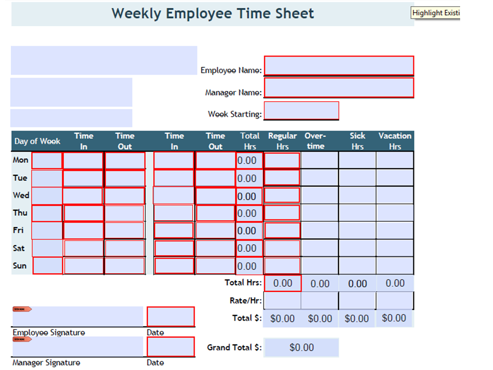 Time sheet complete android apps on google play