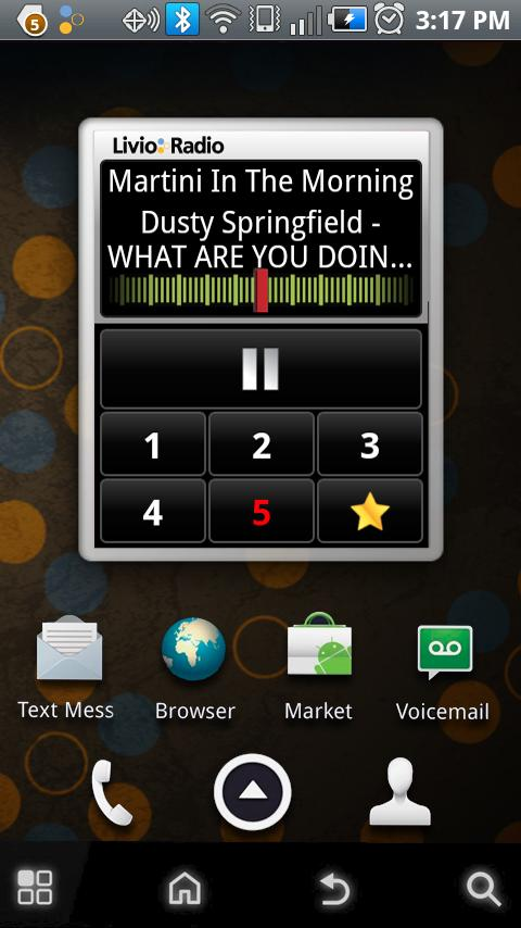 Livio Car Internet Radio Pro - screenshot