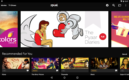 Spuul - Indian Movies & TV 2.5.0 screenshot 236991
