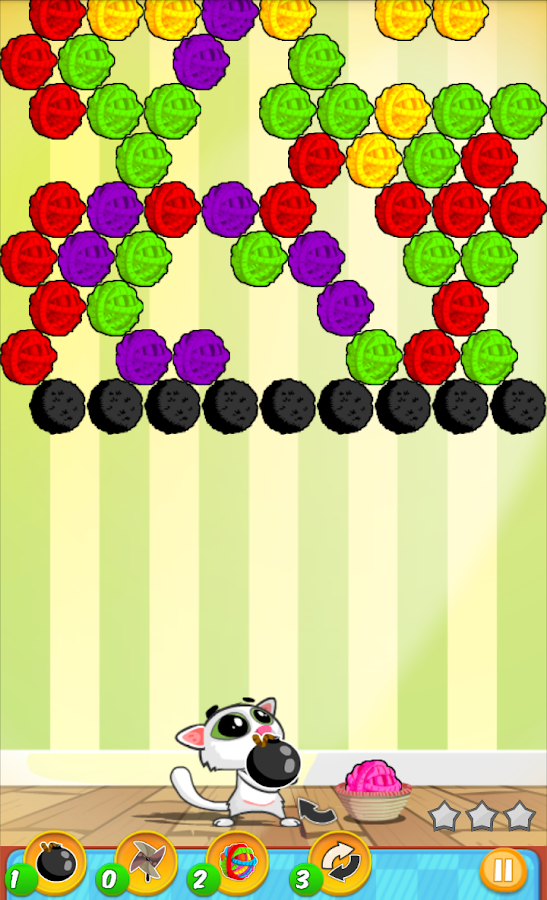 Bubble Shooter Cat - screenshot