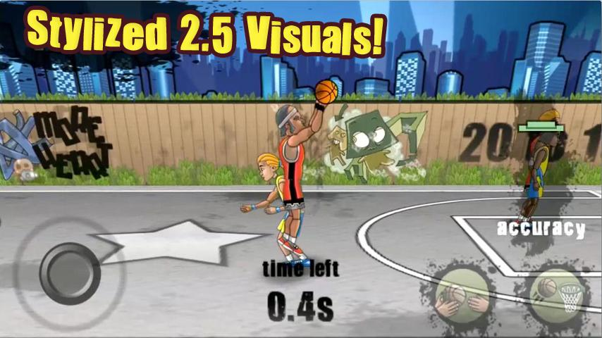 Streetball Free - screenshot