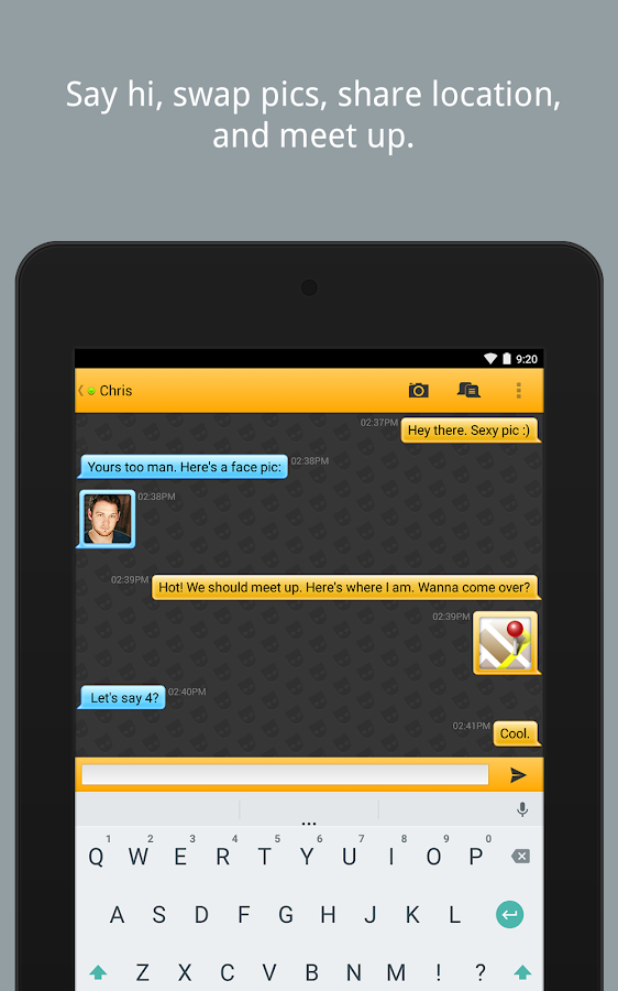 GChat - Gay Video Chat for Android - Free download