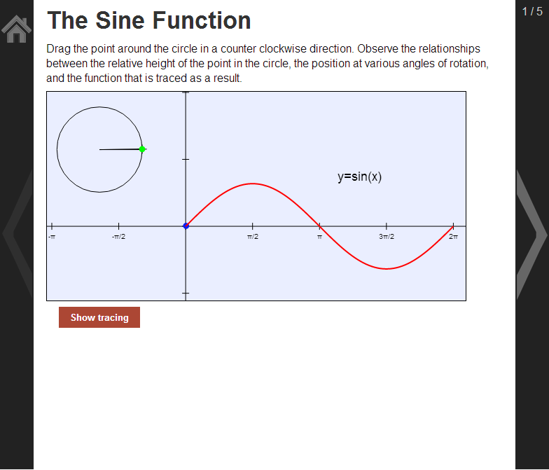 Trig. Functions F-TF 2, 3, 5- screenshot