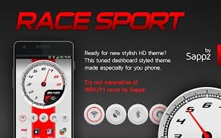 Screenshot of Race Sport HD Widgets