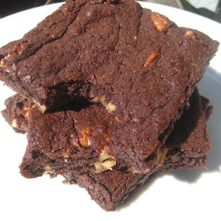 Ultimate Chewy Brownies.