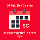 Oil Field Shift Calendar icon