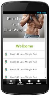 【免費健康App】燃烧脂肪,减肥-APP點子