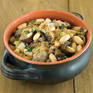 Wild Mushroom & Cannellini Bean Stew
