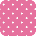 PINK POLKA DOTS ♥ GO LAUNCHER icon