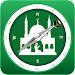 Muslim Prayer Times & Qibla Compass Icon