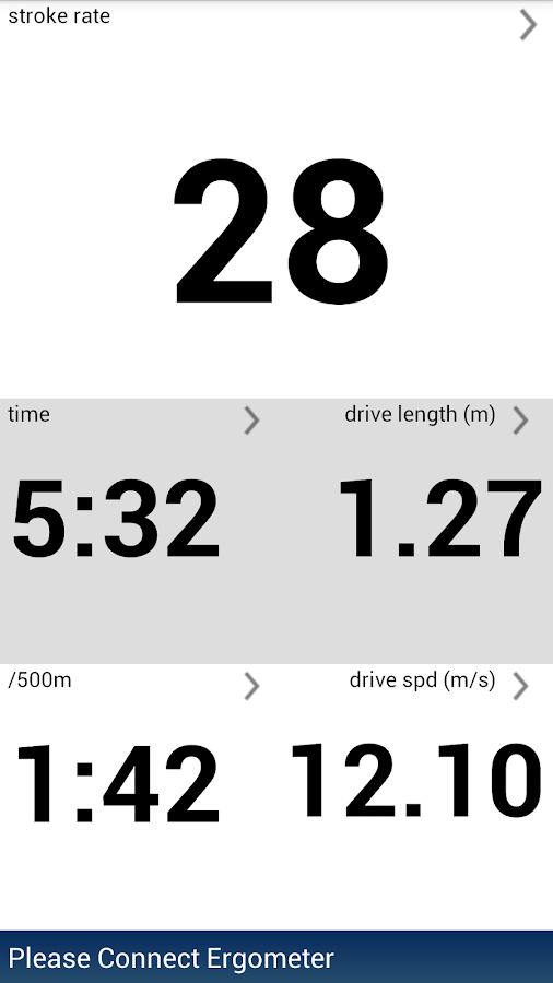 BoatCoach for rowing & erging- screenshot