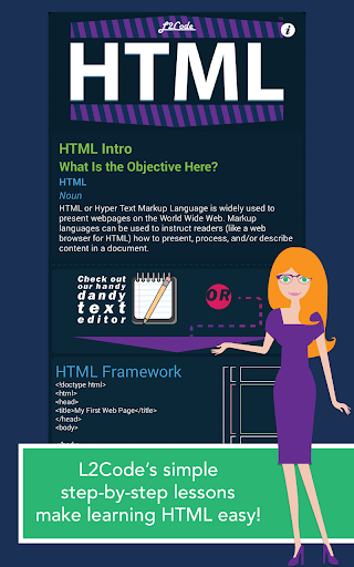 L2Code HTML – Learn to Code