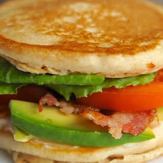 California BLT Pancake Sandwich.