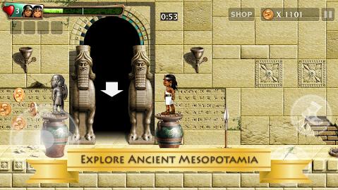 Babylonian Twins Platform Game Screenshot 2