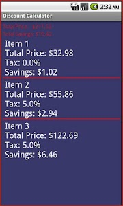 Discount Calculator screenshot 2