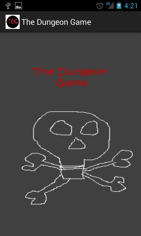 The Dungeon Game- screenshot